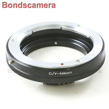 Macro AF Confirm Contax Yashica C/Y Mount Lens to Nikon F Camera Adapter D750