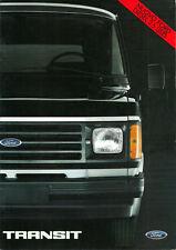 Brochure Depliant Ford Transit 1984 Italiano 24 pagine