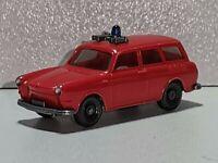 Wiking ( 600 / 11A )  - VW  Variant Feuerwehr - blassrot - TOP ZUSTAND