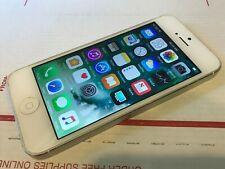 New listing Apple iPhone 5 - 32Gb - White & Silver (Unlocked) A1429 (Cdma + Gsm)