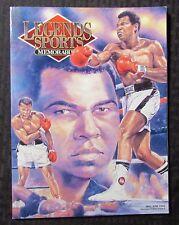 1993 Legend Sports Memoribilia Magazine v.6 #3 VF+ 8.5 Muhammad Ali Boxing