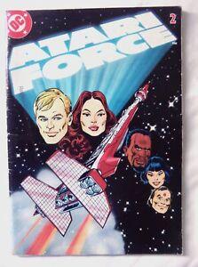 61025 Instruction Insert Comic - DC Atari Force - Atari 2600 / 7800 (1982) C0182