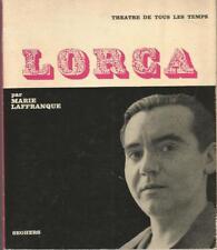 Lorca, par Marie Laffranque, envoi autographe signé de l'auteur