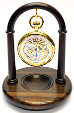 Rosewood Pocket Watch Stand, Handmade in England A27r (Watch not included)