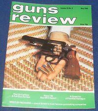 GUNS REVIEW MAGAZINE MAY 1985 - THE UZI 9 MM CARBINE