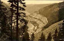 Lauscha Thüringer Wald DDR AK frankiert 1961 gelaufen Blick vom Lauschenstein