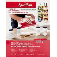 Speedball Fabric Screen Printing Tool Kit Starter Pack Frame Squeegee Diazo