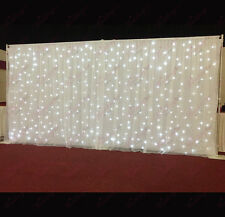 White Starlight Curtain, LED Backdrop, LED Star Cloth