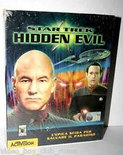 STAR TREK HIDDEN EVIL GIOCO NUOVO PC EDIZIONE ITALIANA PAL BIG BOX FR1