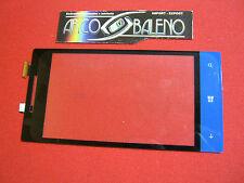 Kit VETRO+ TOUCH SCREEN per HTC ONE 8S A620E per LCD DISPLAY VETRINO COVER BLUE