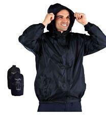 Pro Climate Mens Waterproof Jacket Lightweight Wind Resistant Kag In A Bag