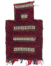 Antik Afghan Baluch nomaden Tasche teppich salztasche nomadic rug bag Nr:102