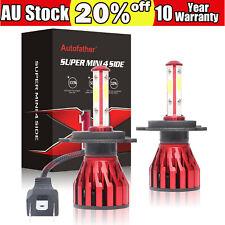 560W 68000LM CREE H4 9003 HB2 LED HEADLIGHT KIT LAMP Hi/Low BEAM BULBS Globes AU