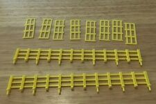 LIONEL 1887 YELLOW FENCE SET FOR GENERAL HORSES 2 LONG & 8 SHORT NEW PARTS