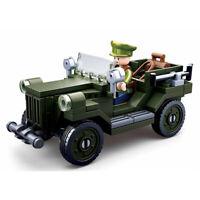 Sluban WWII Allied light truck M38-B0682 112 pcs