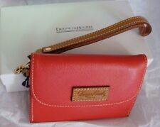 BNWT DOONEY & BOURKE Red Wristlet YU146 Red