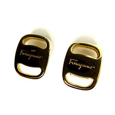 Auth Salvatore Ferragamo earring Valve Hardware Women''s used J4910