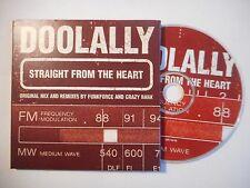 DOOLALLY : STRAIGHT FROM THE HEART ♦ CD SINGLE PORT GRATUIT ♦