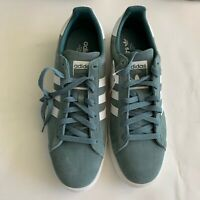 NWB Adidas Campus Men's Rawgrn/FtWhite/ Crywht Original B37822 Size 12