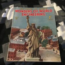 WONDERS OF WORLD ENGINEERING. PART 29. 1938. STATUTE OF LIBERTY