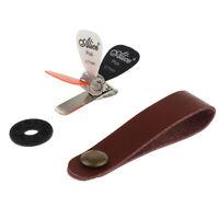 Dava Plec`s  Picks  Dava Master Control Pick mit Metalspitze Plectrum mit Metal