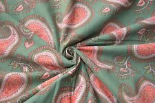 5 Yard Indian Hand Made Block Print Fabric 100% Cotton Crafting Fabric