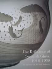 LIVRE/BOOK : VERRERIE SUÉDOIS 1918 - 1939 (swedish glass,verre,vase,coupe,bowl