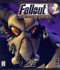 Sealed - Fallout 2 - A Post Nuclear Role Playing Game - Interplay PC CD-ROM RARE