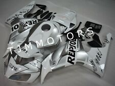 For CBR1000RR 2006 2007 ABS Injection Mold Bodywork Fairing Silver White Repsol