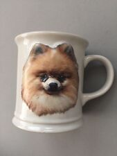 New Ceramic Pomeranian Coffee Cup White