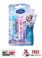Disney Frozen Lip Balm duo Elsa Anna Olaf Winter Berry Sealed Gloss lips Shimmer