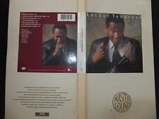 RARE COFFRET  LUTHER VANDROSS / NEVER TOO MUCH / LIMITED EDITION / LONG BOX /