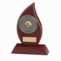 Inferno Mahogany Sports Shield Award Multisports Activity FREE Engraving 3 sizes