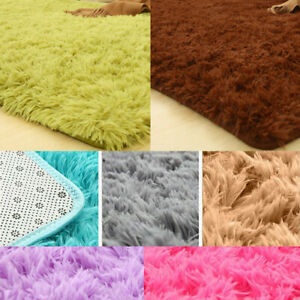 120*160cm Shaggy Carpet For Living Room Home Plush Fluffy Mats Faux Fur Area Rug
