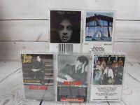 Cassette Tape Lot BILLY JOEL Piano Man Turnstiles Glass Houses Innocent Hits 1&2
