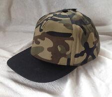 Schirmmütze Basecap Kappe Camo tarn schwarz oliv army cool verstellbar NEU