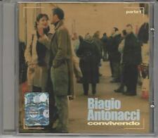 CD BIAGIO ANTONACCI:CONVIVENDO  PARTE .1  NUOVO  NON SIGILLATO