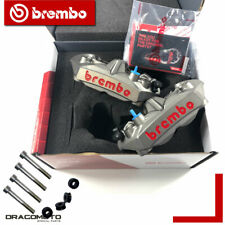 Brembo Calipers M4 108 mm Titanium + 220A06115 spacers