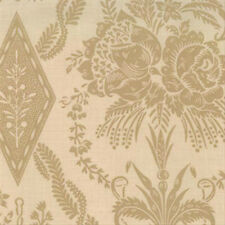 OOP Moda French General Maison de Garance Damask in Oyster Fabric 13546-11