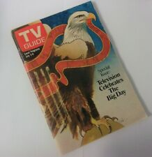 Vintage TV Guide special issue bicentenial edition July 1976