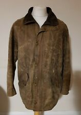 Barbour Newhampshire Wax Coat Brown Size L