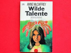 SF-Taschenbuch: Wilde Talente * A. McCaffrey * Heyne * Zustand: gut+ * gebraucht