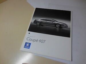 Peugeot Coupe 407 Japanese Brochure 2006/06 GH-D2CPV