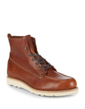Wolverine 1000 Mile Louis Wedge Leather Lace Up Ankle Boots msrp $285 Sz. US 8.5