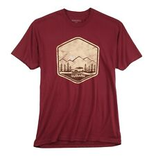 Subaru Official Ascent Mountain Ridge ECO Tee T Shirt made from water bottles