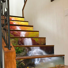 3D  DIY Wallpaper Waterfall Steps Sticker Removable Stairs' Decel Home Decor
