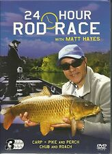 24 HOUR ROD RACE WITH MATT HAYES - 3 DVD BOX SET CARP, PIKE, PERCH, CHUB & ROACH