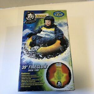 """Uncle Bob's 39"""" Kids Racer Snow Tube Authentic Snow Gear AW-4102 New In Box"""