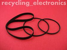 AKAI CS-F110, CSF110 Drive Belt Kit For Cassette Deck (3 Belts)