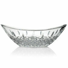 """Marquis by Waterford Gathering 13.25"""" Cross & Wedge Cut Crystalline Bowl"""